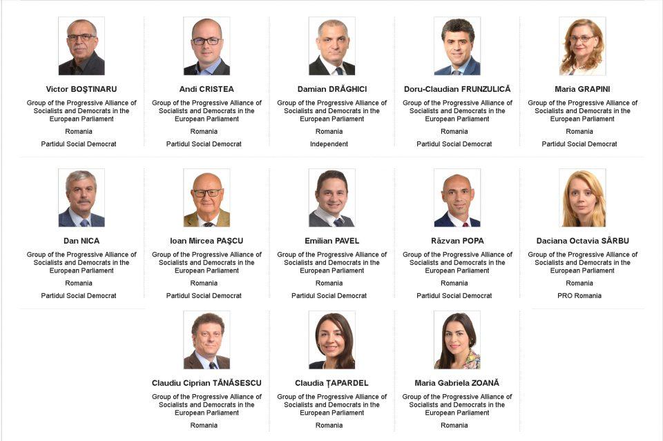 Europarlamentarii PSD