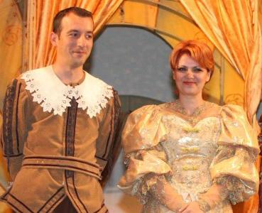 Olguta Vasilescu si Ionut Parvulescu