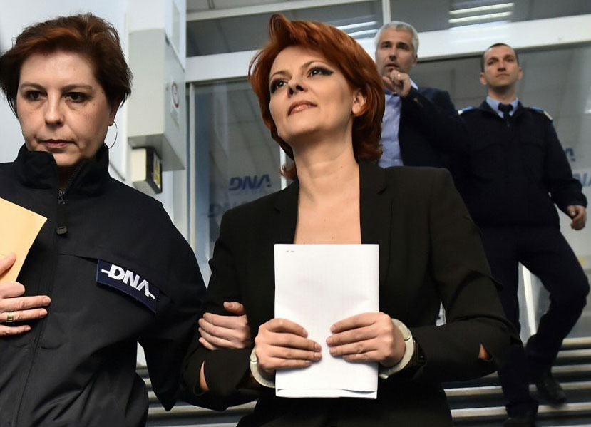 Olguta Vasilescu in catușe