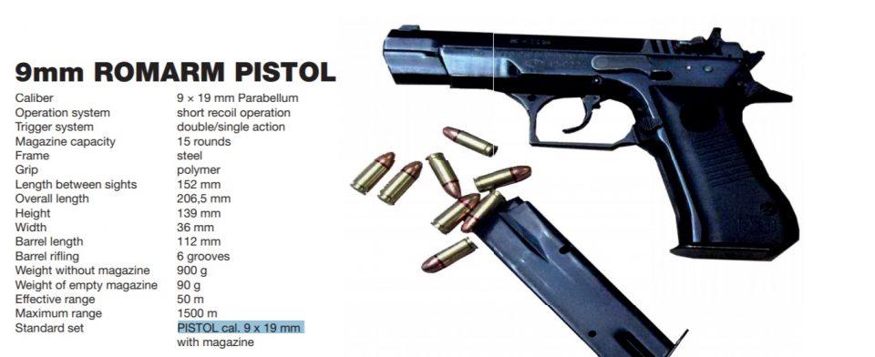 Poliția cumpără arme