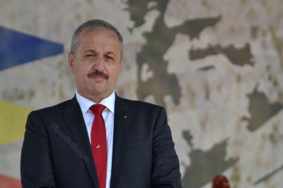 Vasile Dâncu a fost numit președintele interimar al Consiliului Național PSD