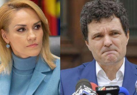 Confruntarea dintre Gabriela Firea și Nicușor Dan la Realitatea TV