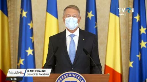 Crăciunul trebuie sărbătorit cu precauție, spune președintele României