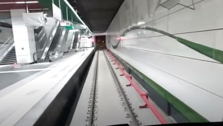 Metroul din Drumul Taberei a fost inaugurat marți, după 9 ani