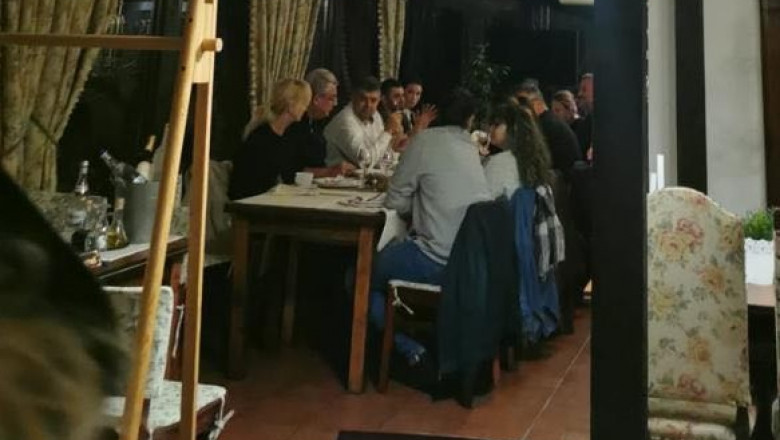 Marcel Ciolacu a dezvăluit cine l-a fotografiat fără mască la restaurantul din Buzău, alături de 10 persoane