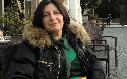 Actrița Magda Catone