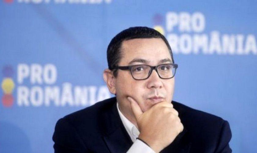 PSD susține PNL și Guvernul Orban, a declarat Victor Ponta